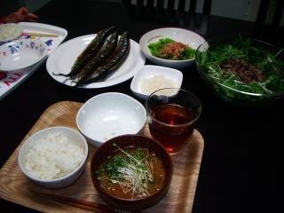 1003夕食