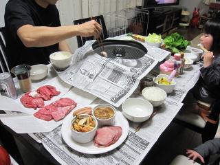 0214焼肉ディナー