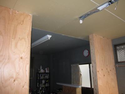 天井も完成