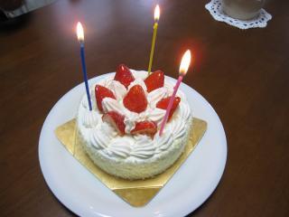 0420BDケーキ