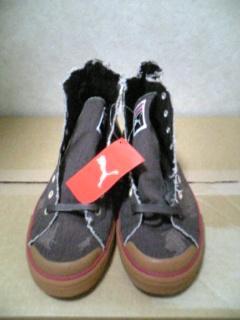 0208プーマ靴