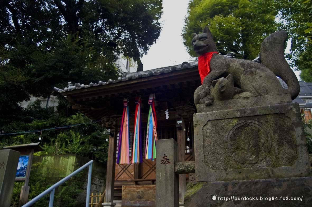 初秋の烏森神社