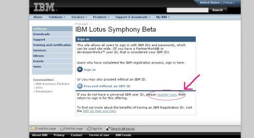 IBM ID register now