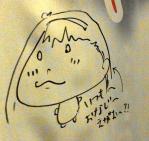 ヒジキ先生の似顔絵
