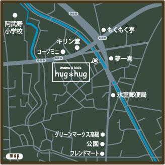 hughug地図