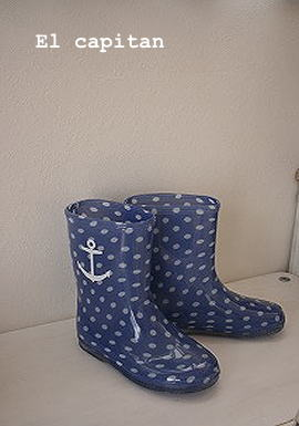 イカリの雨靴