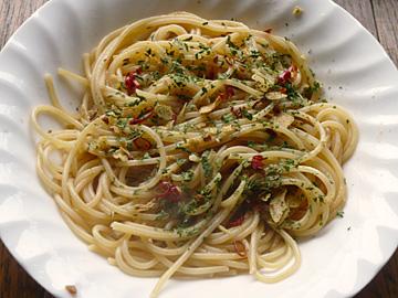 普通のスパゲティ