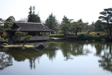 日本庭園内④