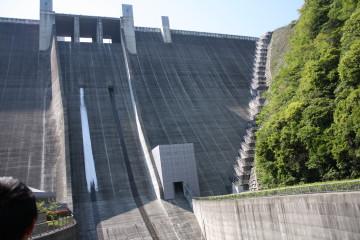 宮ヶ瀬ダム観光放流①