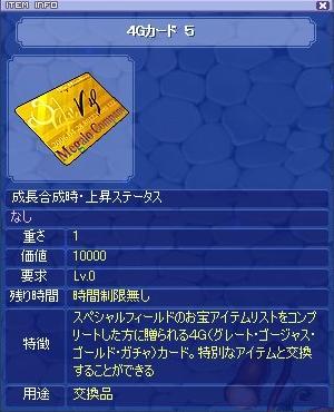 4Gカード5