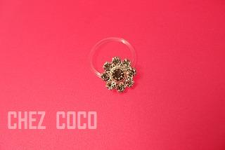 toe flower ring