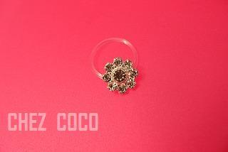 toe flower ring