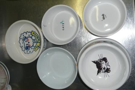 毛玉達の食器