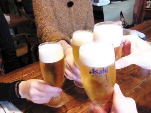 12-3-20 ビア乾杯
