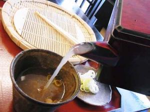 12-3-30 蕎麦湯