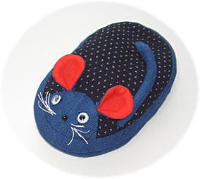 鼠のデジカメケース