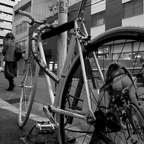 大人の自転車