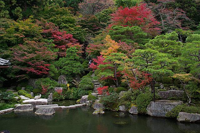 百済寺 喜見院の庭園