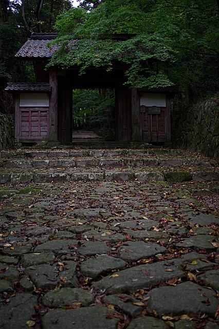 百済寺 山門