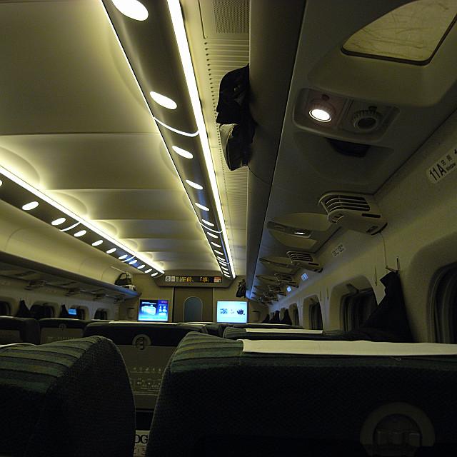 新幹線車内