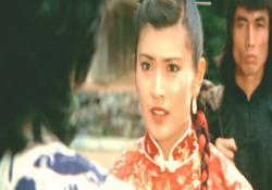 1980年東映「忍者武芸帖・百地三太夫」より、母・志穂美悦子25才