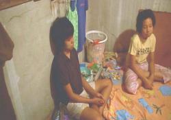 ある村に、監禁された子供たち