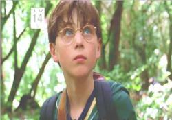 ジャングルをさまよう、12才のベン少年