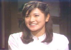 1978年日本テレビ「熱中時代」最終回より、母・志穂美悦子23才