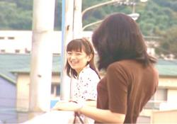 笑っている二人