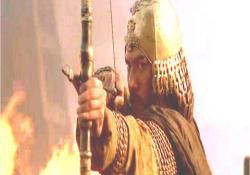 曹操に弓を向ける孫権