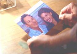 ベンと娘・アレックスの思い出の一枚