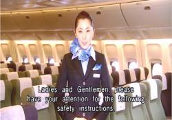 御搭乗ありがとうございます。皆様に客室内の案内についてご案内します。