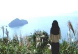 目の前に広がる琵琶湖