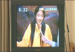 テレビに出ている香苗