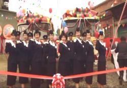 島原観光バス開通式