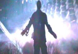 スカイ・ネットに侵入するマーカス・ライト