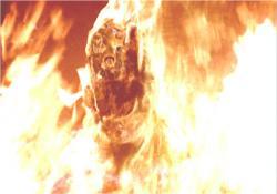 燃えるマシン