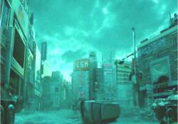 廃墟の町、新宿