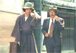 当時の松子未亡人の一人息子、佐清さんです