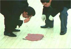 展望台に残された血痕
