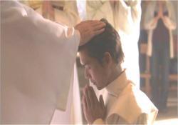 神父、就任の儀式