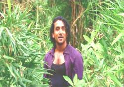 ジャングルでジンと再会したサイード