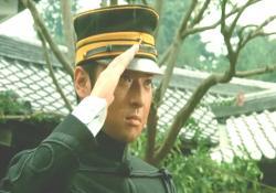 小賀少尉、敬礼