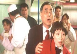 しんちゃんの荒れぶりに、びびる五郎と花子