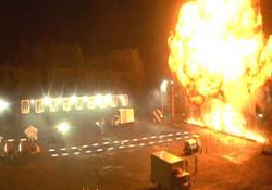 湯川の大学で爆破実験