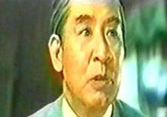 国民に呼びかける、山村聡演じる首相