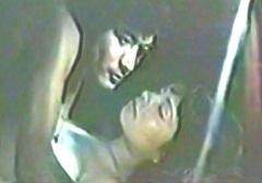 黒沢年男と由美かおるの船でのラブシーン