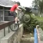 マウンテンバイク神業