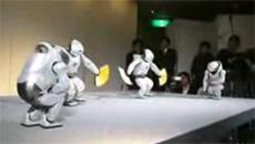 アシモのダンス