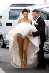 ウェディングドレスの中身